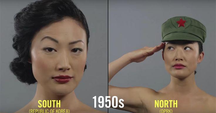 Come erano le acconciature delle coreane negli anni '30? E le donne messicane preferivano il chignon o la coda? Una serie di video mette in mostra i cambiamenti nel fashion internazionale