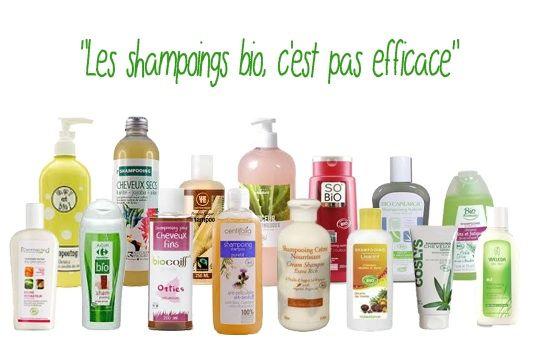 """Ah... ce que j'ai pu lire, entendre cette phrase : """" Les shampoings bio, c'est pas effi..."""