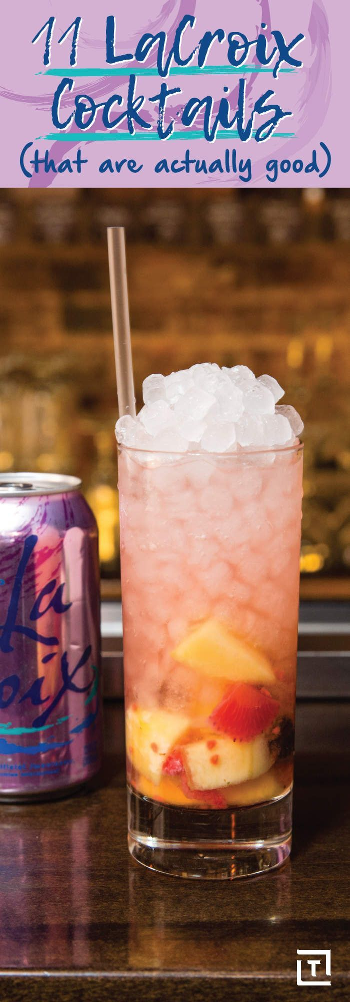 Easy LaCroix Sparkling Water Cocktail Recipes - Thrillist