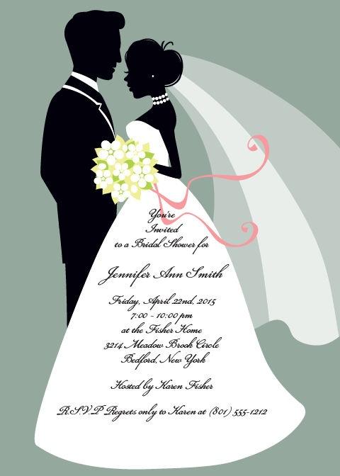 40 best images about bridal shower invitations on pinterest for Online wedding shower invitations