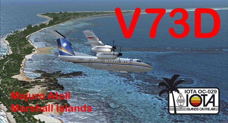V73D Activation DX sur les îles Marshall