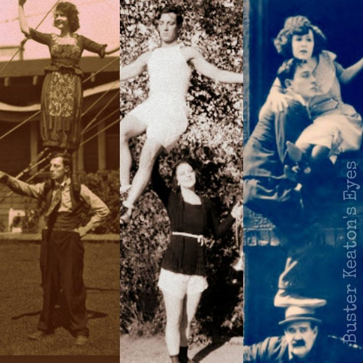 Buster Keaton  and Viola Dana,  Virginia Fox,  Sybil Seely
