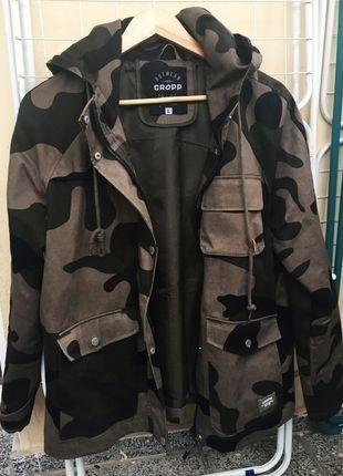 Kup mój przedmiot na #vintedpl http://www.vinted.pl/damska-odziez/kurtki/14261847-kurtka-wiosnalatojesien-damska-moro-camo-cropp-l