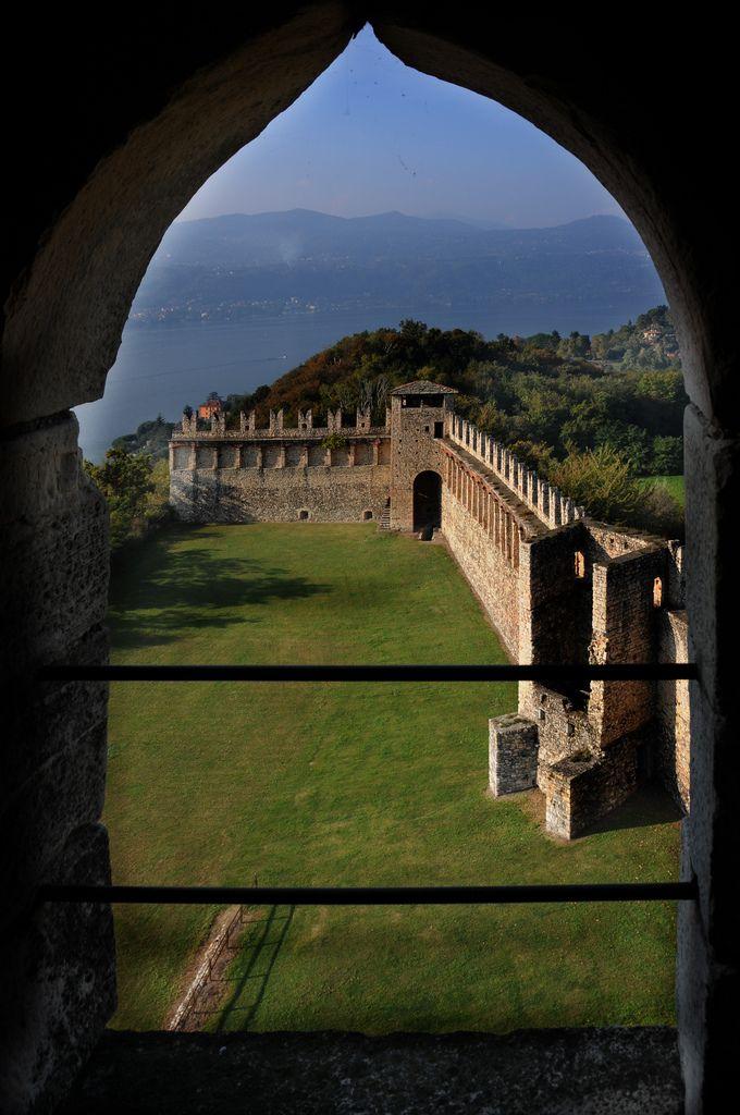 Rocca Borromea - Angera (Varese), Lake Maggiore, Lombardy, Italy