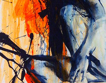 """Check out new work on my @Behance portfolio: """"Blue With Orange"""" http://on.be.net/1kiCTPm"""