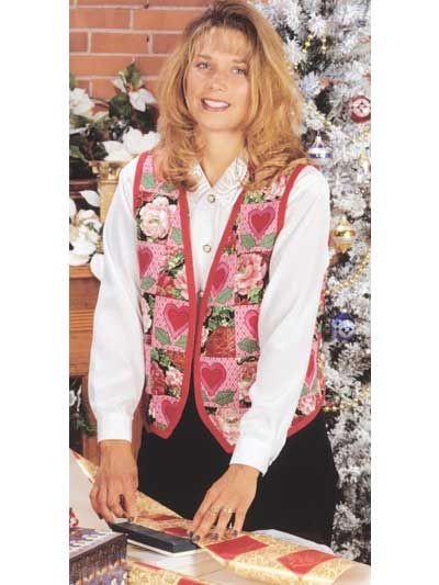 Quilted Clothing - Quilted Vest Patterns - Holly-Patch Vest