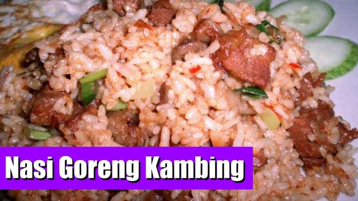 Cara Membuat Nasi Goreng Kambing Nikmat - Masakan Idul Adha