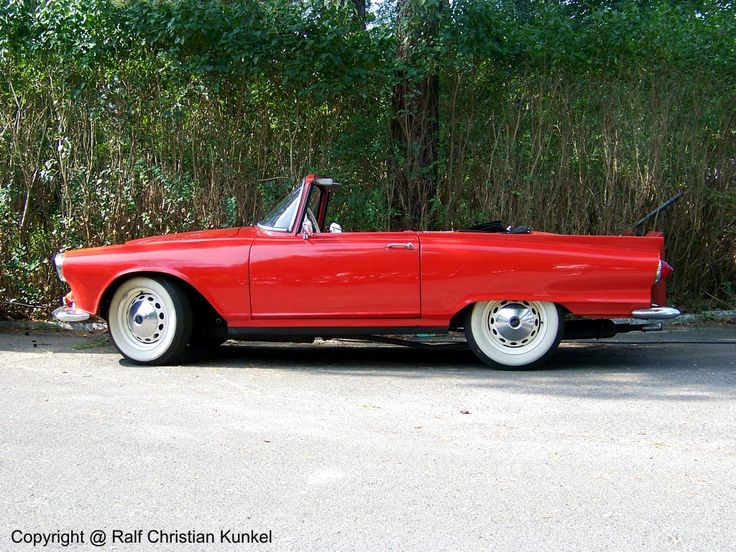 """Auto Union 1000 Sp Roadster - """"I love this little car"""""""