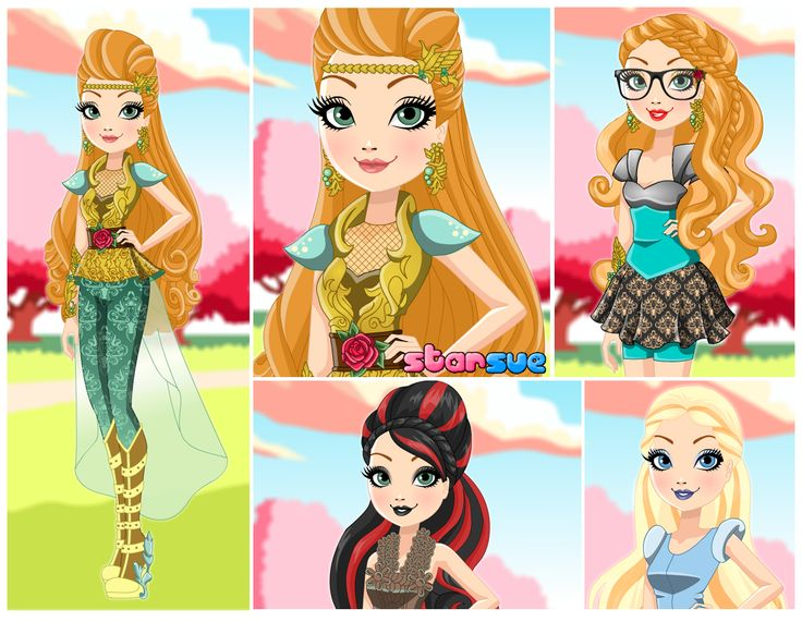 You can Play now! Ever After High Dragon Games Ashlynn Ella Dress Up Game : http://www.starsue.net/game/Dragon-Games-Ashlynn-Ella.html Have Fun! ♥♥♥