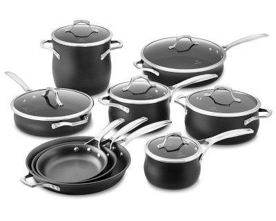 calphalon unison nonstick slide sear 15piece cookware set - Calphalon Cookware Set