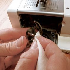 Mantenimiento básico de la máquina de coser