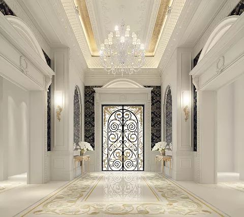 19 best luxury entrance lobby designs by ions design for Luxury interior design firms