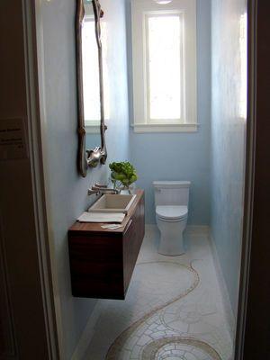 曲線が美しいトイレ