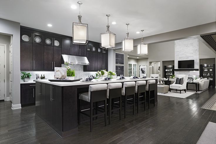 Dreaming of an open kitchen with ample seating, counter space and storage? | Reilly model home | The Summit at San Elijo Hills, San Marcos, California | Richmond American Homes