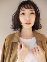 モリオ 原宿本店(morio from London)【morio原宿】原宿 髪型 ゆるふわ黒髪ボブ