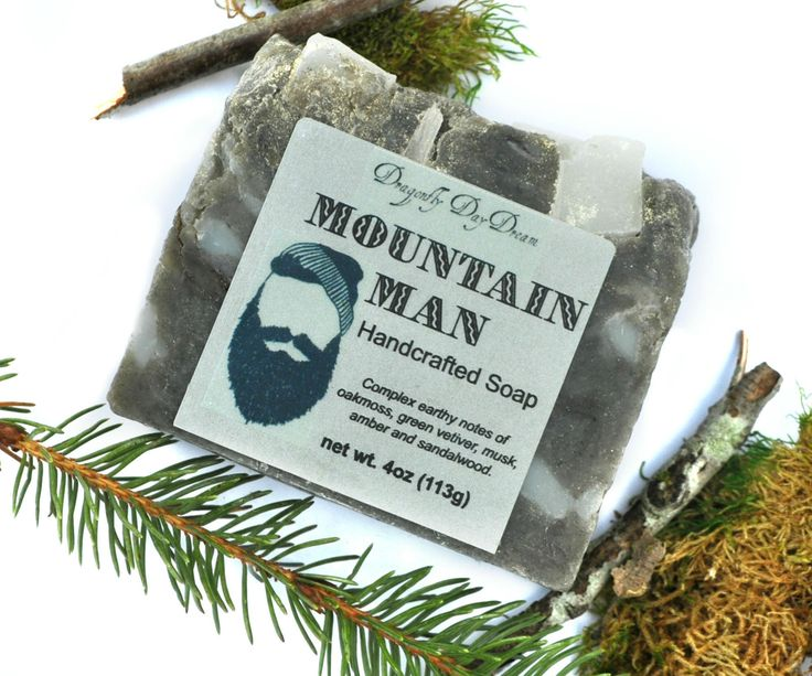 Excited to share the latest addition to my #etsy shop: MOUNTAIN MAN Handcrafted Soap | Valentine Gifts for Men | Gifts for Guys | Handmade Soap | Artisan Soap | Bar Soap | Vegan Soap | Oakmoss #bathandbeauty #soap #gray #birthday #valentinesday #white #mountainman #handcraftedsoap #limitededitionsoap