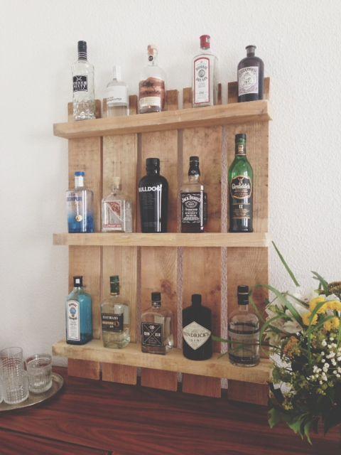 83 best Alles Paletti images on Pinterest Furniture from pallets - küchenregal selber bauen