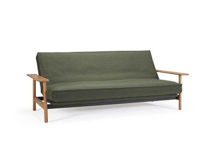 BALDER ist die perfekte Symbiose von Bett und Sofa. Breite