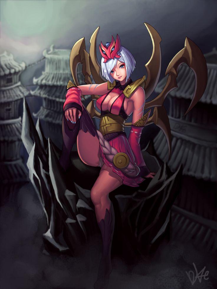 league-of-legends-sexy-girls:  Elise