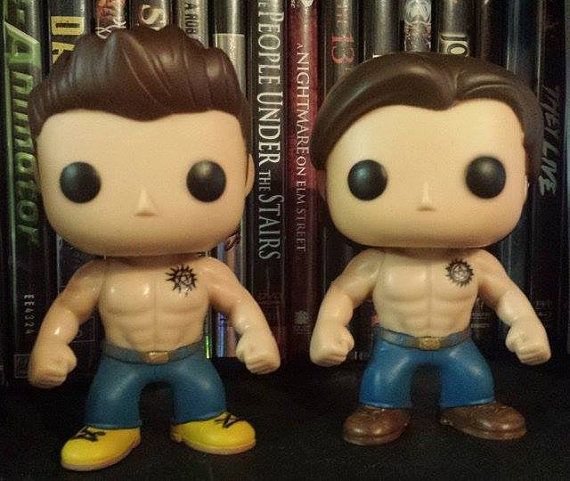 Supernatural Shirtless Sam Winchester Custom Funko Pop