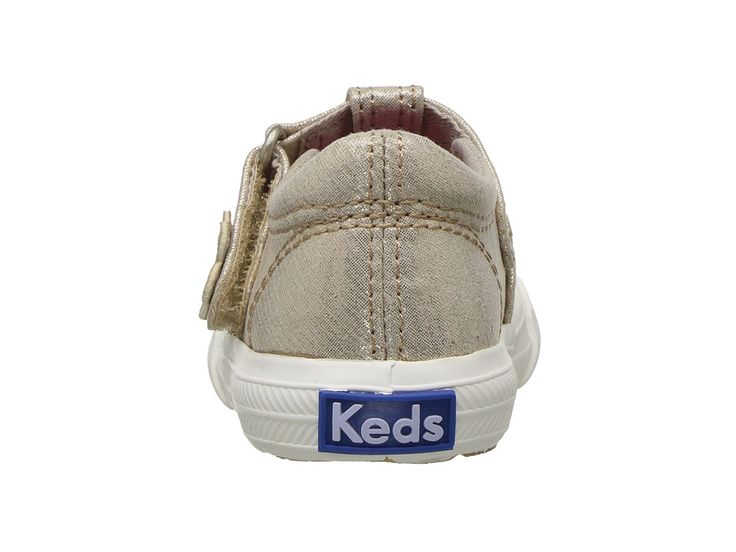 Keds Kids Daphne (Infant/Toddler) Girls Shoes Gold