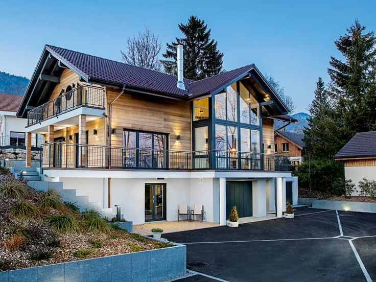 Entwurf Leclerc Von WeberHaus | Markante Holz Glas  Architektur Mit  ökologischer Gebäudehülle Und Viel