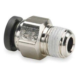 Male Connector, PrestoWeld(TM), 1/4 In by Parker. $4.46. PrestoWeld Weld Splatter-Resistant Nickel-Plated Brass FittingsSilicone-free fittings are specifically designed for use in robotic welding industry pneumatic control applications; won't melt or come undone if hit by weld spatter. Lubricated nitrile O-ring and stainless steel grab ring fit robotic arms and ensure positive tube retention; release easily with the push of a button.Max. pressure: 300 psiTemp. r...