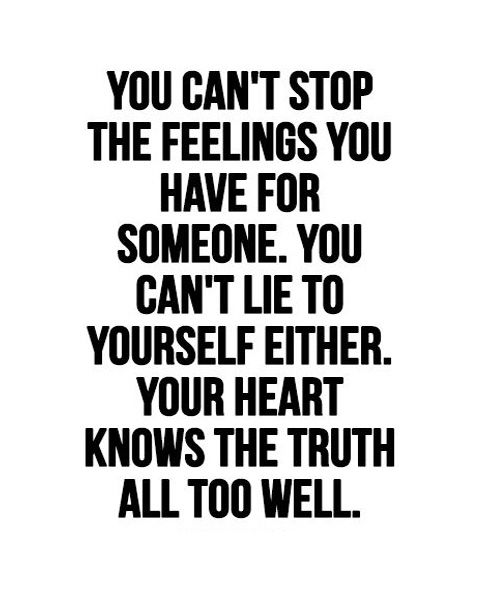 STOP THE FEELINGS- LOVE QUOTES