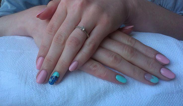 #semilac #diamondcosmetics #nails