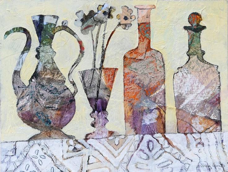 Jenny Grevatte - Still Life on Lace Cloth  http://www.goldmarkart.com/all-art/all-artists/jenny-grevatte/still-life-on-lace-cloth.html