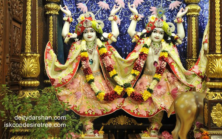 To view Nitai Gaurachandra Wallpaper of ISKCON Chowpatty in difference sizes visit - http://harekrishnawallpapers.com/sri-sri-nitai-gaurachandra-wallpaper-012/