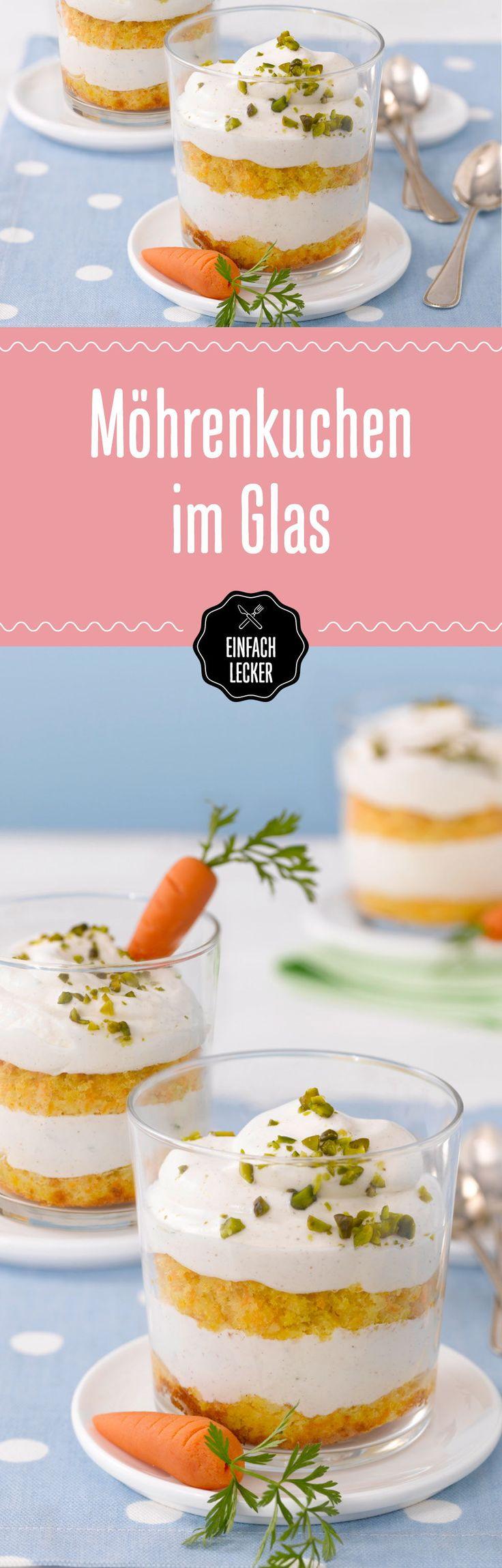 Ich sehe was, das du nicht siehst … und das sind Möhren im Kuchen! #carrotcake