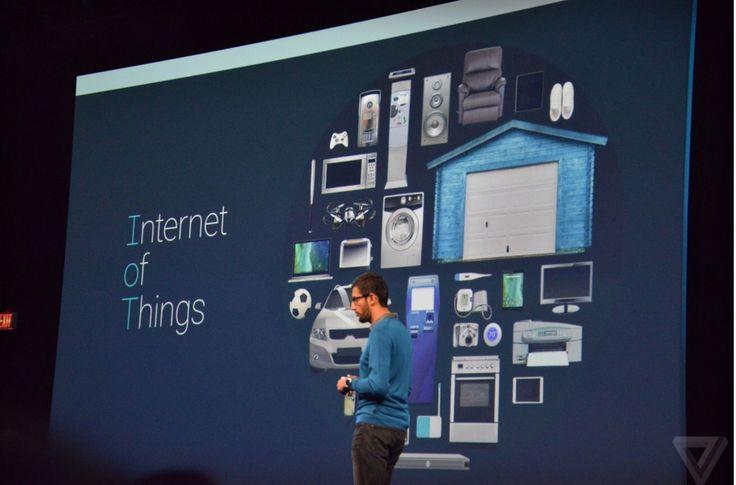 """Google представила операционную систему Brillo для """"Интернета вещей""""."""