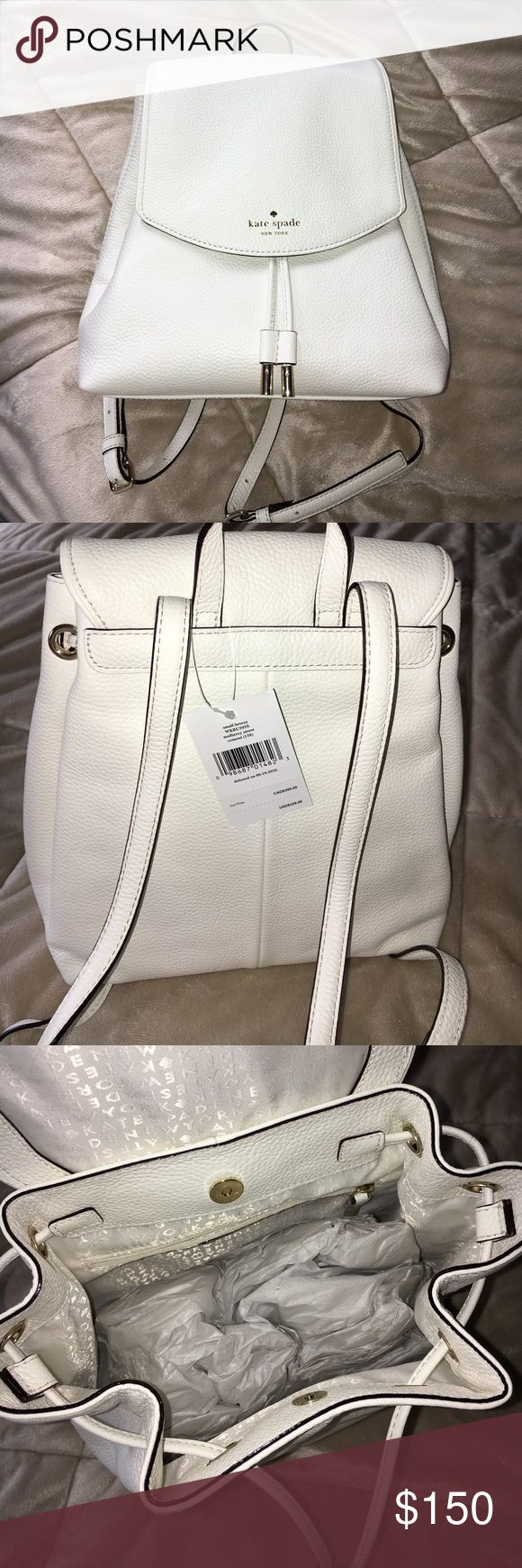 KS Backpack ♠️ Small Breezy - Mulberry Street KS Backpack. Color - Cement Price firm. Possibly looking to trade for Pink Blush or Mulled Wine. kate spade Bags Backpacks