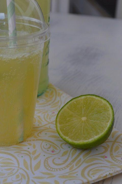 Limeade {limonade aux citrons verts} Battle Food 20 - par La cuisine d'Anna et Olivia