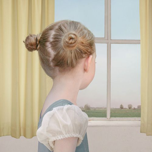 At The Window - Loretta Lux  Ilfochrome Print   2004