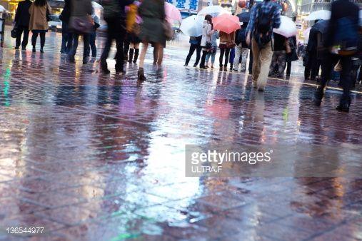 shibuya wet pavement - Google Search