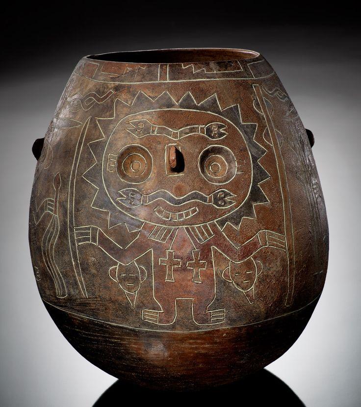 Paracas vessel, ca. 200 BC–AD 1. Inca Region, Peru