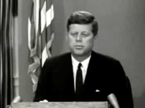 John F. Kennedy June 11, 1963 Civil Rights address (Part 1)