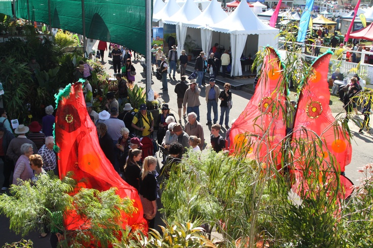 There is always plenty to see at the QLD Garden Expo