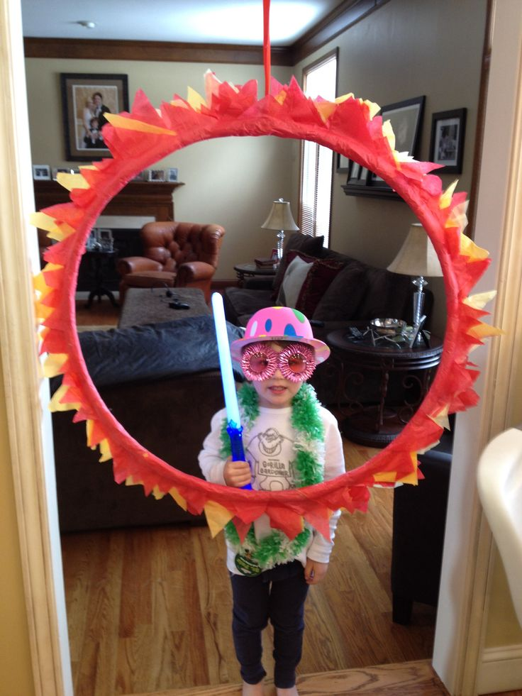 Ring Of Fire Carnival Photo Prop Back To School