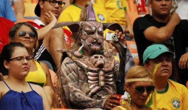 The Most Unusual Fans At The World Cup In Brazil
