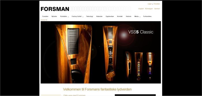 Forsman loudspeaker vss5