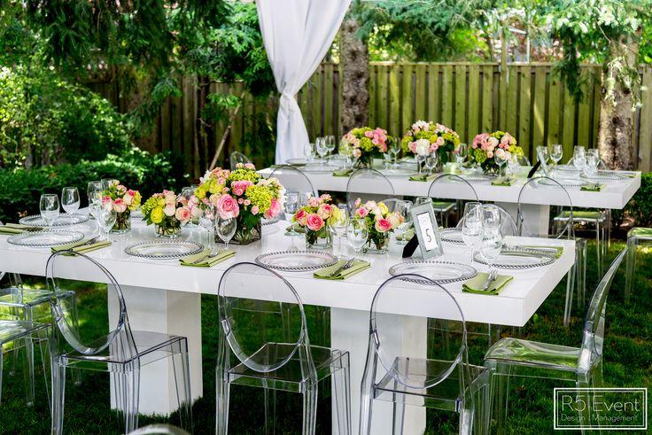 Outdoor Garden Bridal Shower by R5 Event Design