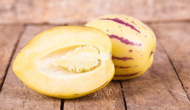 Wie Isst Man Eine Pepino Melonenbirne Melonen Rezepte Essen
