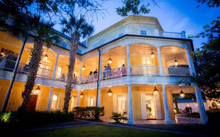Consider the morale boost of a mid-week team retreat for your end-of-year or holiday party | The William Aiken House in Charleston, South Carolina | Photo by Alice Keeney
