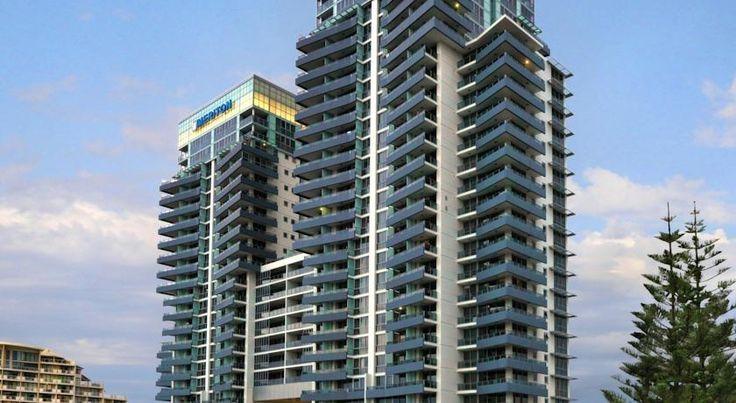 HOTEL|オーストラリア・ゴールドコーストのホテル>ビーチから徒歩5分>メリトン サービスド アパートメンツ ブロードビーチ(Meriton Serviced Apartments Broadbeach)