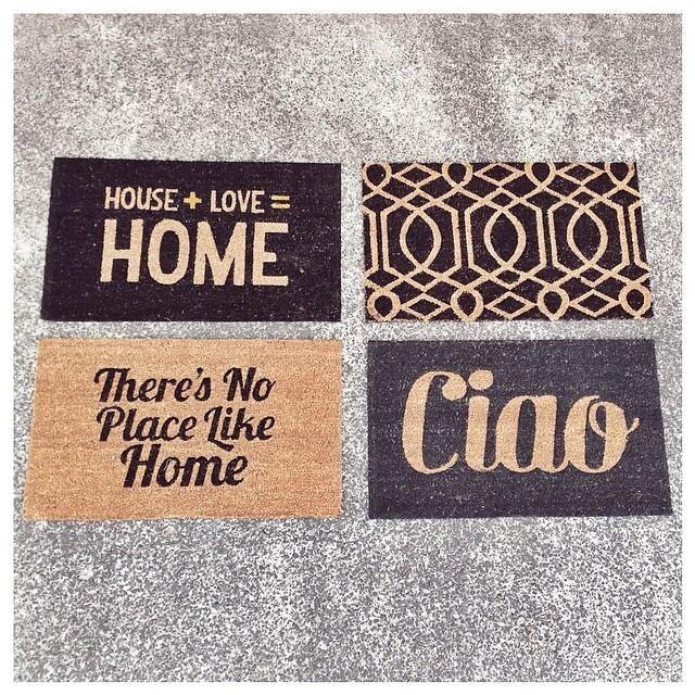 Just arrived - door mats $24.95