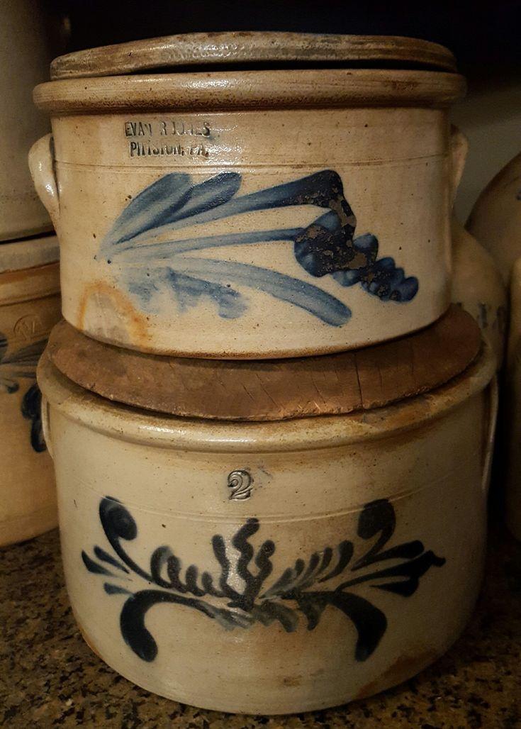 LOVE salt glazed stoneware/crocks..