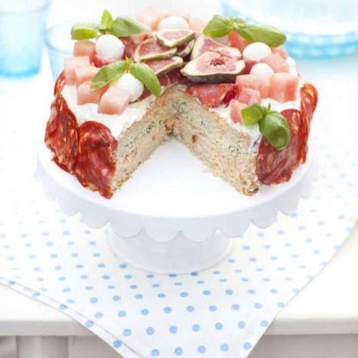Smörgåstårta med italienska smaker - Mitt Kök